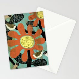 Flora and Fauna - Warbler Stationery Cards