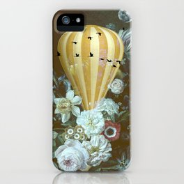 Up, up and away iPhone Case