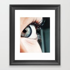 Eye 3 Framed Art Print