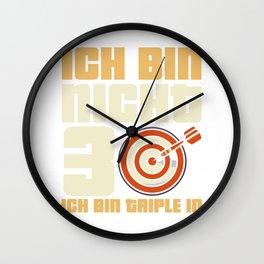I'm not 30 I'm triple 10 Wall Clock