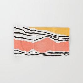 Modern irregular Stripes 01 Hand & Bath Towel