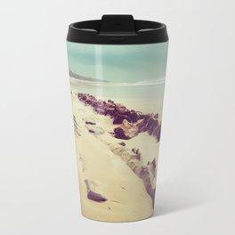 Blue Ocean Path Travel Mug