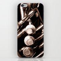 jazz iPhone & iPod Skins featuring Jazz by KunstFabrik_StaticMovement Manu Jobst