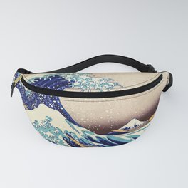 The Great Wave Off Kanagawa Fanny Pack