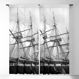 A Sail Warship The USS Constellation Blackout Curtain