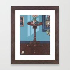 bill & charlie Framed Art Print