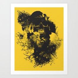 Abstract Thinking Art Print