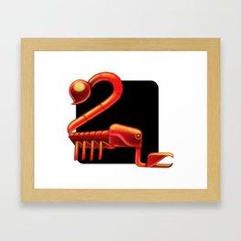 Scorpio sign Framed Art Print