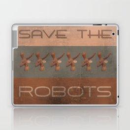 Save The Robots Laptop & iPad Skin