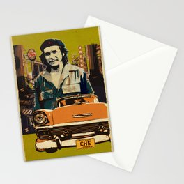 Retro Cuba design with car & Che Guevara Stationery Cards