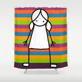 CandyCane Shower Curtain