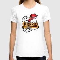 hyrule T-shirts featuring Hyrule Cuccos by Buby87