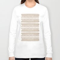 lace Long Sleeve T-shirts featuring lace by Ioana Luscov