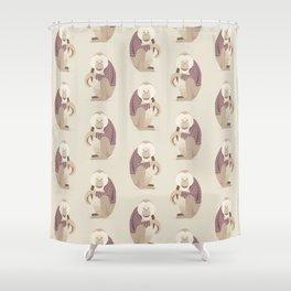 Whimsical Orang Utan Shower Curtain