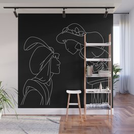 Aladdin & Jasmine Wall Mural