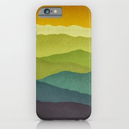 Mountain Colors iPhone Case