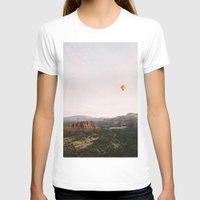 hot air balloon T-shirts featuring Hot Air Balloon #1 by Alden Terry
