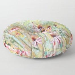 Flower Meadow Floor Pillow
