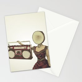 Neutral Milk Boombox Stationery Cards