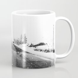SNOW - WHITE - ROAD - WAY - TRIP - ADVENTURE Coffee Mug