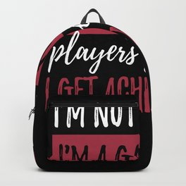 IM Not A Player IM A Gamer Backpack