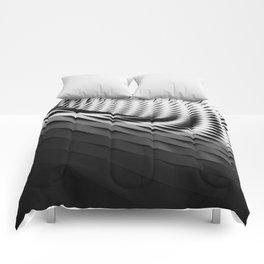 architecture black white Comforters