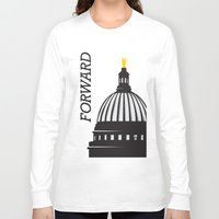 wisconsin Long Sleeve T-shirts featuring Forward Wisconsin by Luther Tenbridges