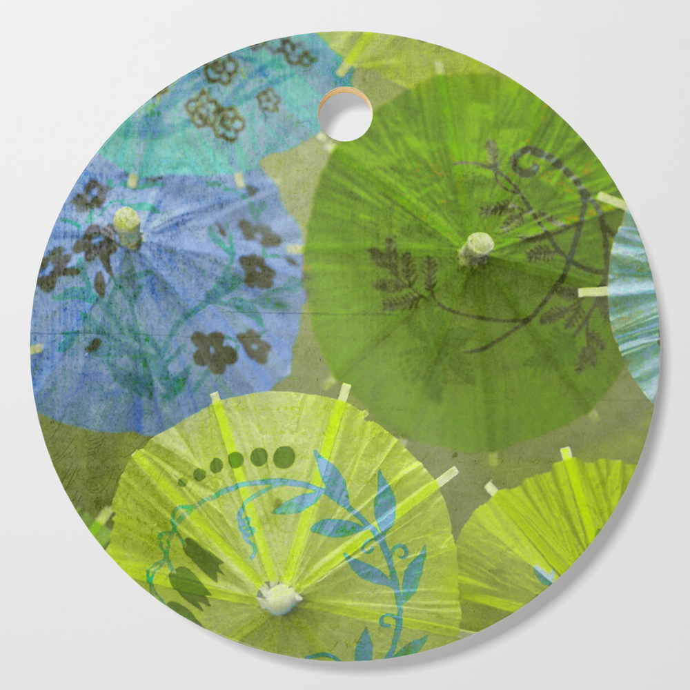 Parasols Blueberry Lime Cutting Board by lisaargyropoulos (DCB2039539) photo