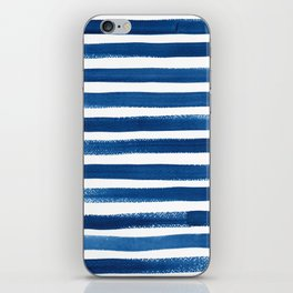 Painted Breton Stripes iPhone Skin