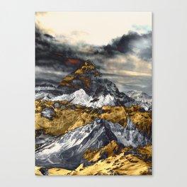 Gold Mountain Canvas Print