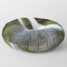 Koosah Falls Oregon Floor Pillow