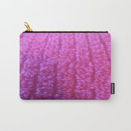 Fuzzy Hot Pink! Carry-All Pouch