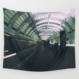 Morning Commute Wall Tapestry