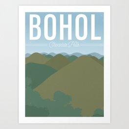 Chocolate Hills | Bohol Art Print