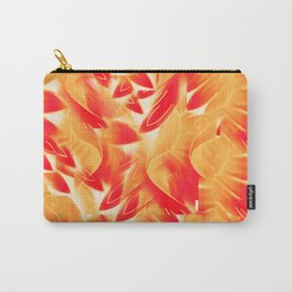 Blushing Petal Wings Carry-All Pouch