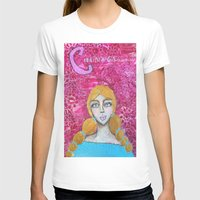 courage T-shirts featuring Courage by Leanne Schuetz Mixed Media Artist