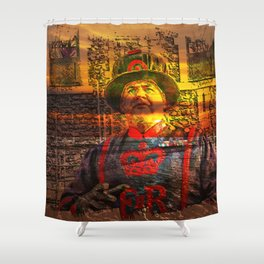 London InFocus Collection III Shower Curtain