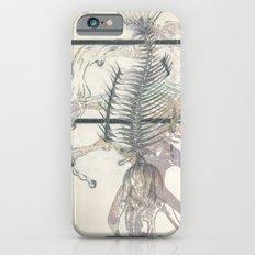 rose-Fish-bone dinosaur Slim Case iPhone 6s