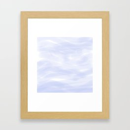 Cooling waters Framed Art Print