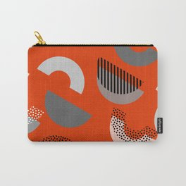 Half-circles Carry-All Pouch