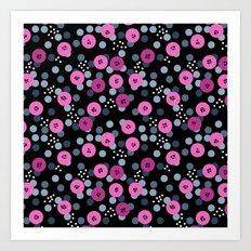 Abstract polka dots pattern 1. Art Print