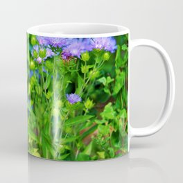 Lavender Blue Flowers Coffee Mug