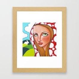 One Side Makes You Grow Taller Framed Art Print
