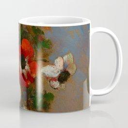 "Odilon Redon ""Les Anemones (Still Life with Anemones)"", c. 1900-1910 Coffee Mug"