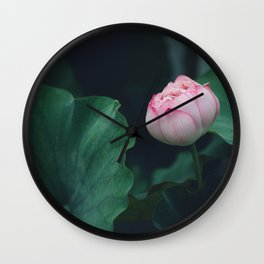 Flower Photography by Jerry Wang Wall Clock