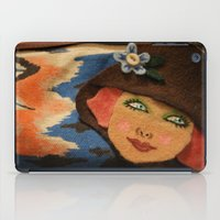 backpack iPad Cases featuring Backpack by Callieen