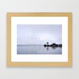Early Morning on the River Framed Art Print