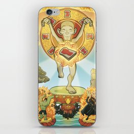 L'equilibrio divino iPhone Skin