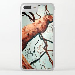 Sycamore Clear iPhone Case