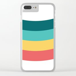 Pattern Abstract 92#002 Clear iPhone Case